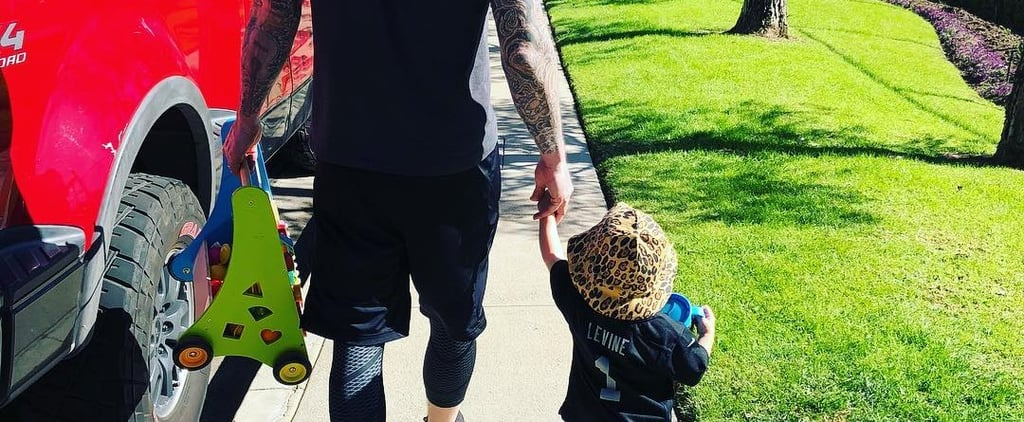 Adam Levine and Daughter Dusty Are 2 Peas in a Pod in This Adorable Instagram Snap