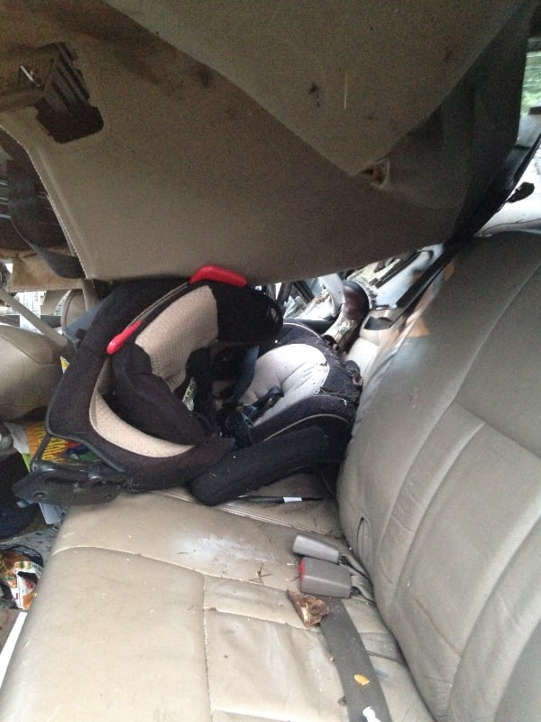 Properly Installed Rear Facing Car Seat
