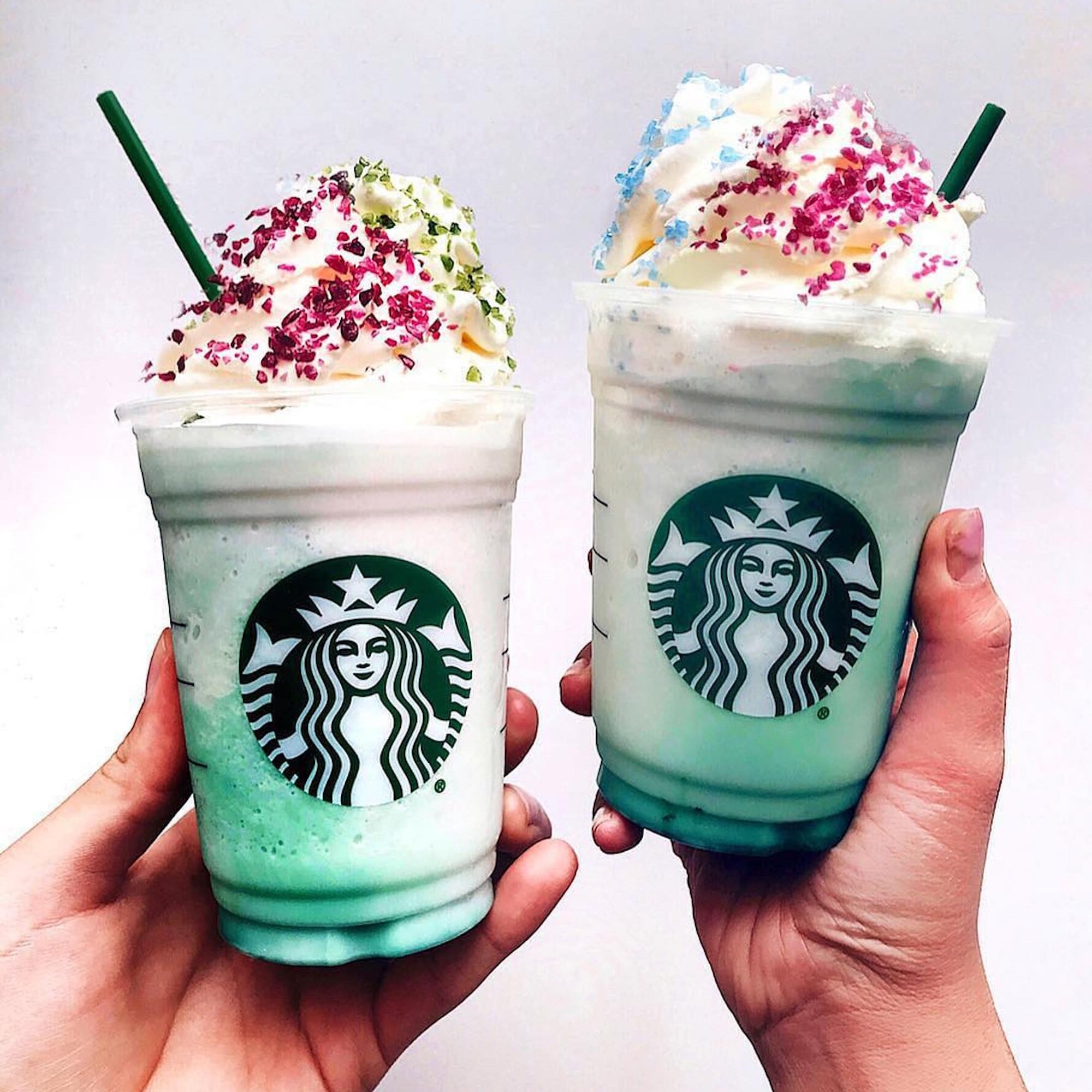 Image result for crystal ball frappuccino