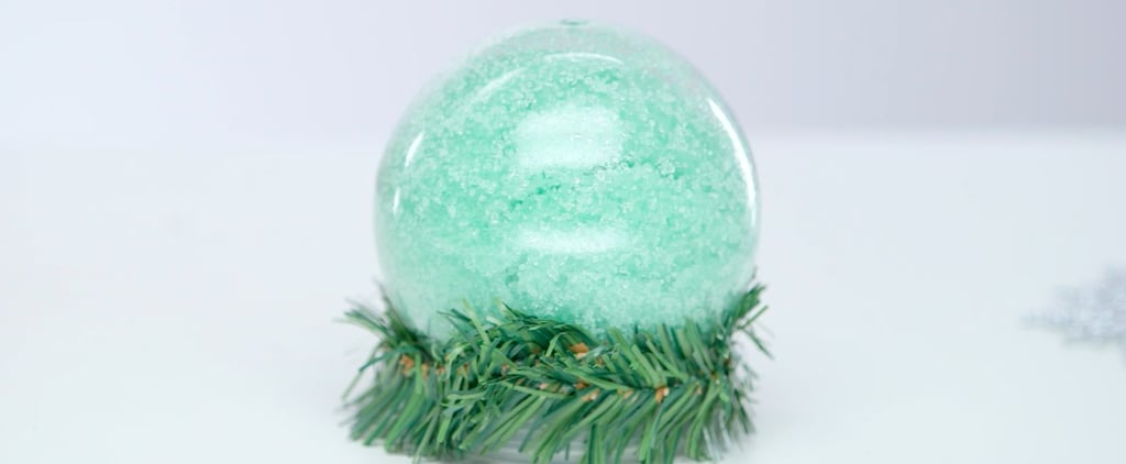 Putting Body Scrub in a Snow Globe Makes an Instantly Fabulous DIY Gift