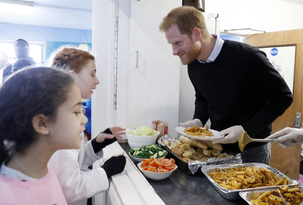 When He Served Kids Lunch During His Fit and Fed Visit