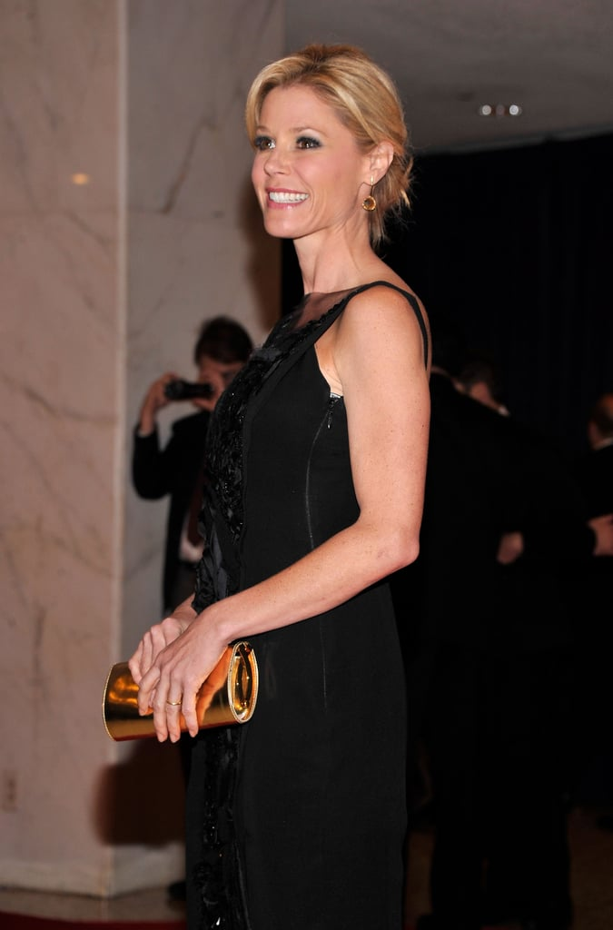 Julie Bowen was stunning in a black gown at the White House Correspondant's Dinner.