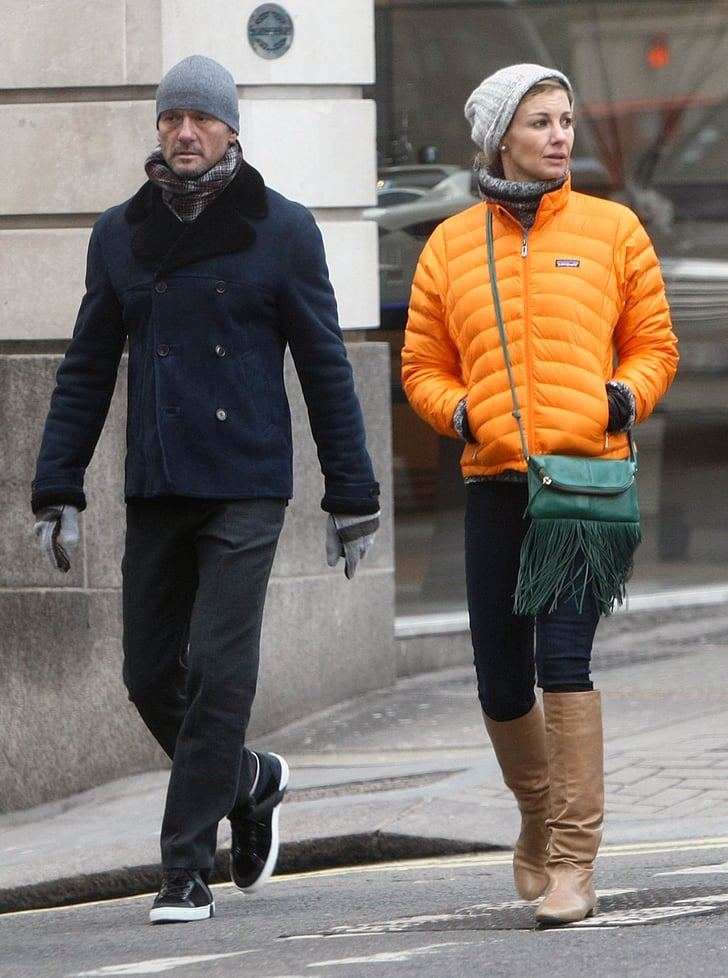 Tim mcgraw and faith hill walked in london with their for Do tim mcgraw and faith hill have kids