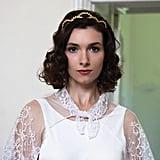 Gold Bridal Crown Simple and Elegant Bridal Tiara