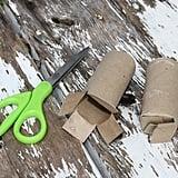 Toilet Paper Roll Starter Pots Hack