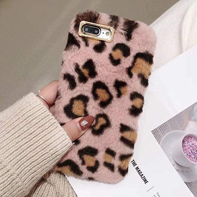 Plush Leopard iPhone Case