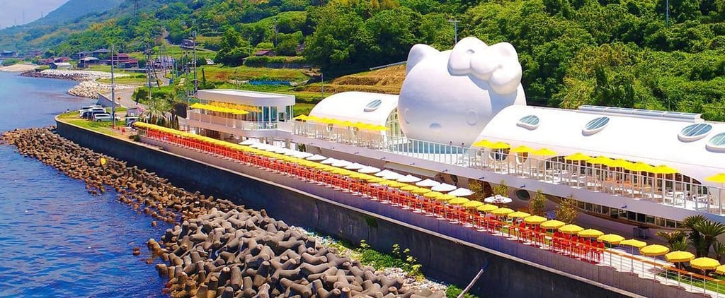 Hello Kitty Smile Restaurant on Awaji Island in Japan
