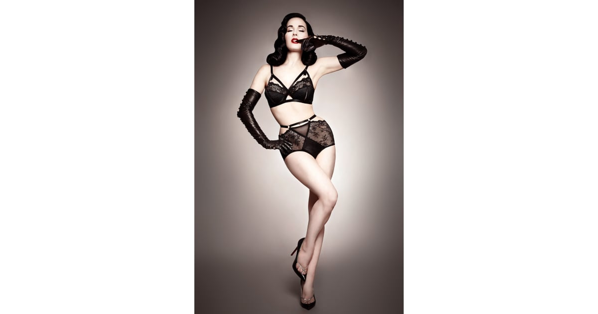 dita von teese lingerie dita von teese bloomingdale 39 s lingerie popsugar fashion photo 6. Black Bedroom Furniture Sets. Home Design Ideas