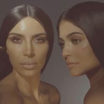 Kylie Cosmetics and Kim Kardashian