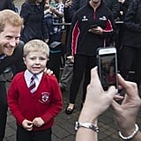 Photographer Said Prince Harry's Going to Be a Great Dad