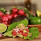 Avocado Radish Tacos