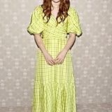 Sadie Sink at the Kate Spade New York New York Fashion Week Show