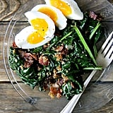 Alice Waters's Warm Spinach Breakfast Salad