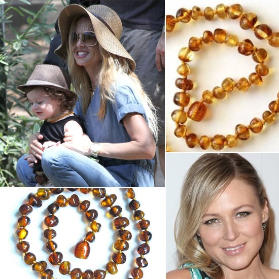 Celebrity Moms Swear By Amber Teething Necklaces; Do You?