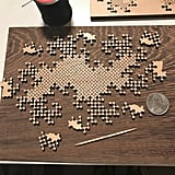 Twindragon Curve Wooden Fractal Puzzle