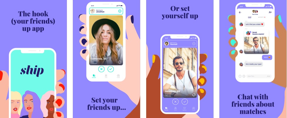 Ship Is the Dating App Where Your Friends Swipe For You