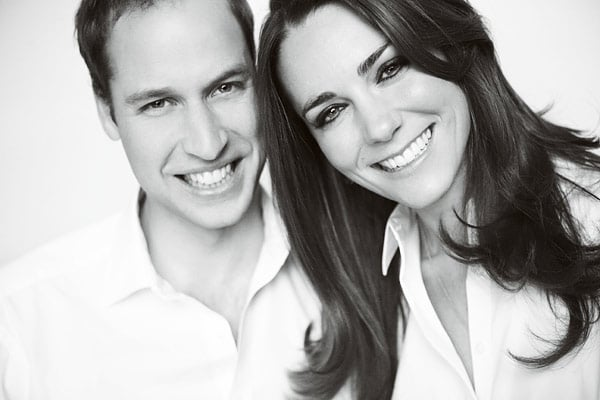 Prince William and Kate Middleton are in final preparation mode for their wedding tomorrow in London! Information from their ceremony's program was released just this morning, containing William and Kate's special thank-you message for the outpouring of love they've received before the vow exchange. In addition, Kate and William unveiled this new black and white photograph shot by Mario Testino! Mario, who was a close friend of the prince's mother, Diana, also was behind the lens for William and Kate's first engagement photos. William and Kate have planned to incorporate Diana's life and legacy into the service, especially though their choice of music. We can't wait for everything to begin tomorrow morning. Make sure to stay tuned to PopSugar for our royal wedding live stream.