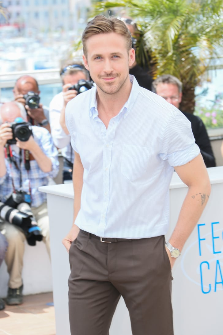Ryan Gosling S Baby Blues Were Even Brighter In The Cannes