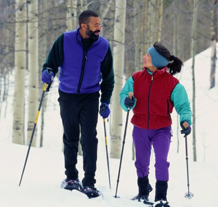 Go Snowshoeing With a Pal This Winter