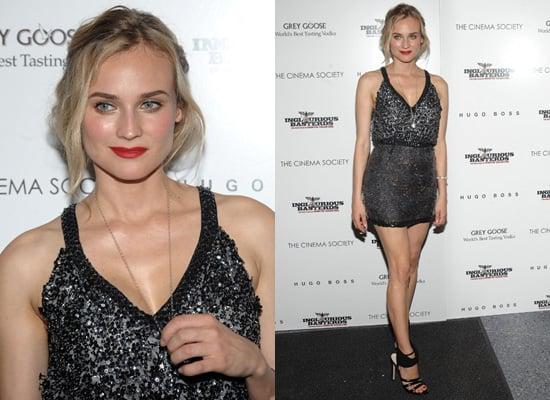 Diane Kruger at Inglorious Basterds Hugo Boss Screening in New York
