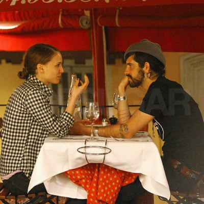 Natalie Portman and Devendra Banhart Have Dinner in Cannes
