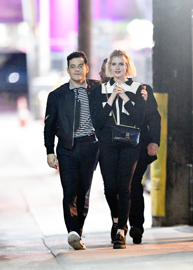 Rami Malek and Lucy Boynton Out in LA January 2019
