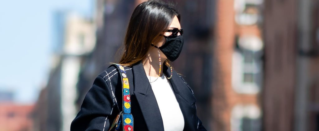 Kendall Jenner's Patchwork Staud Handbag While in New York