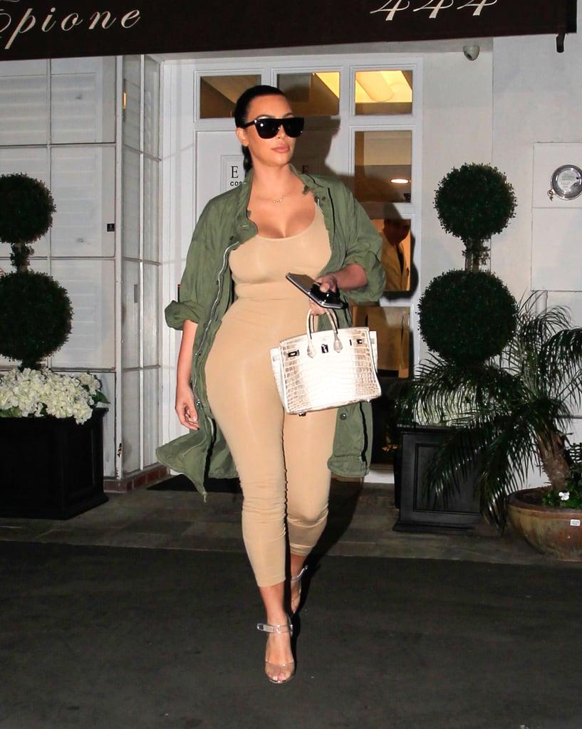 Kim Kardashian in LA March 2016