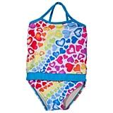Rainbow Hearts Swimsuit ($25)