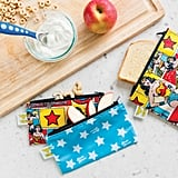 DC Comics 2-Pack Wonder Woman Reusable Snack Bags