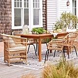 Kaufmann Wood Patio Dining Table