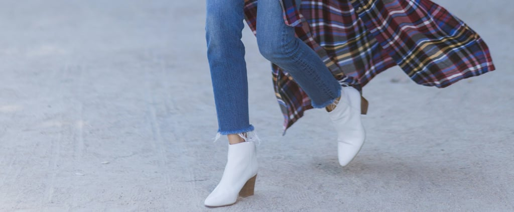 14 Easy Ways to Style Your White Boots This Fall