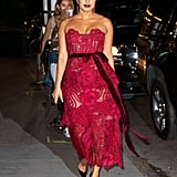 Priyanka Chopra's Oscar de la Renta Dress September 2019