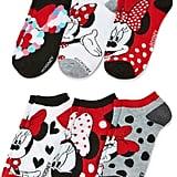 Minnie Mouse No-Show Socks