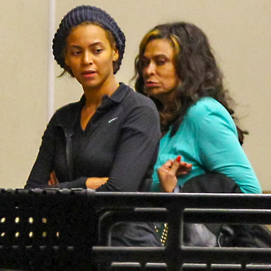 Beyonce Knowles Rehearses For Super Bowl 2013
