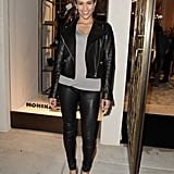 Leather: Paula Patton