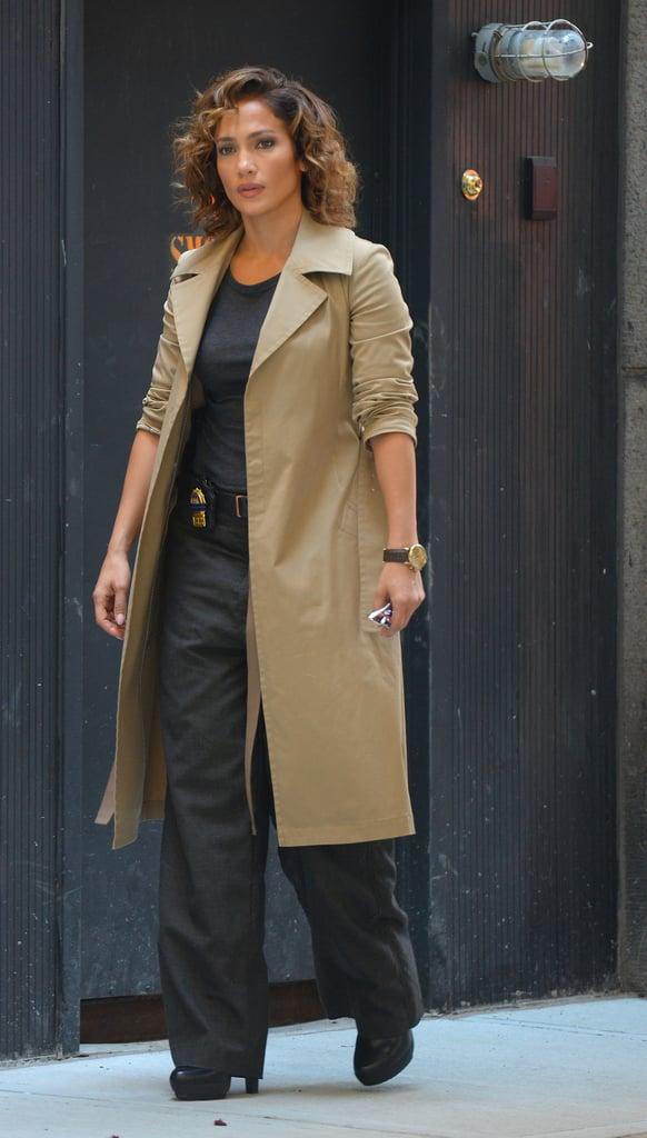 Jennifer Lopez's Shades of Blue Style