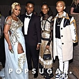 Pictured: Mary J. Blige, John Boyega, Letitia Wright and Jaden Smith