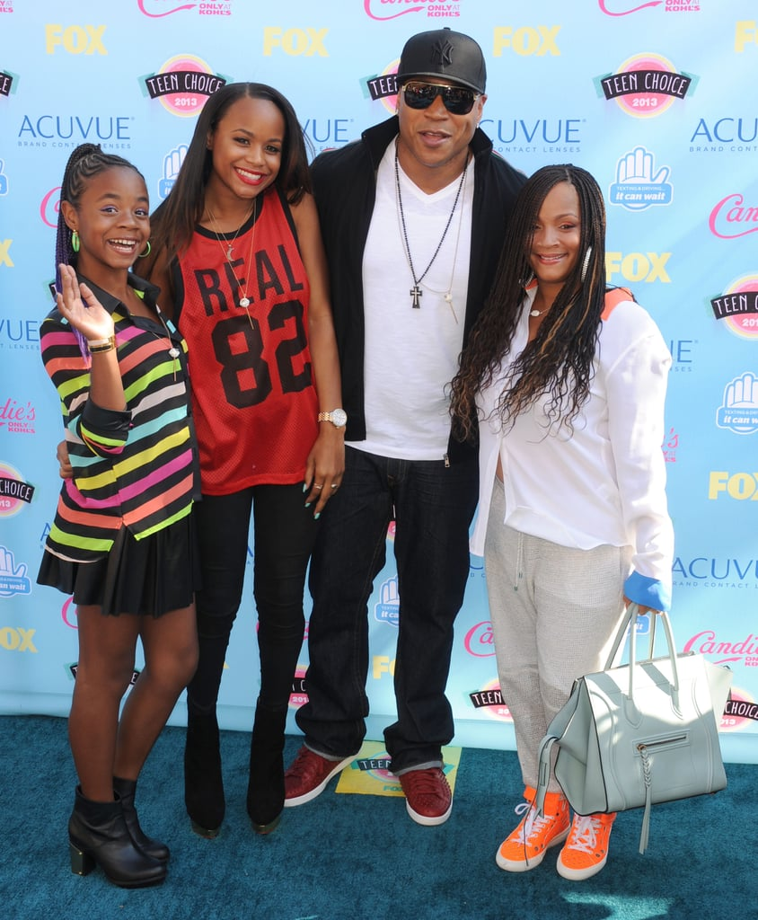 LL Cool J was surrounded by his gorgeous family on the red carpet in 2013.