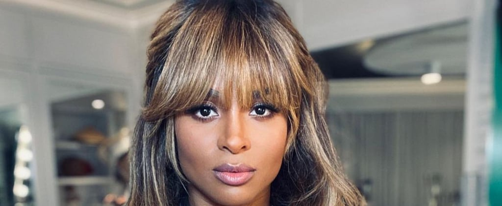 Ciara Wears Retro Bangs, Remains a Hairstyle Inspiration