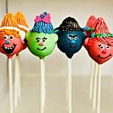 Trolls-Inspired Cake Pops