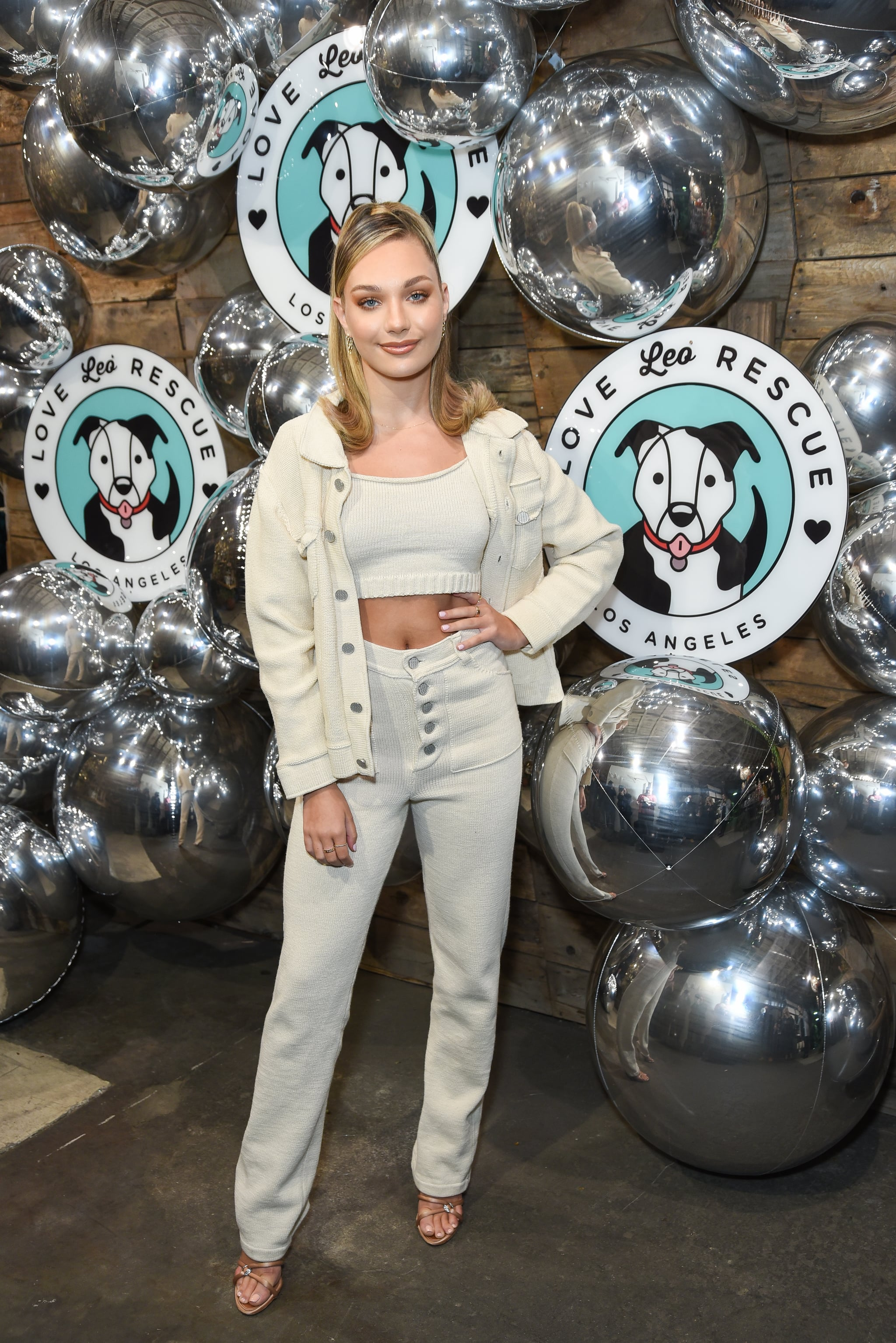 LOS ANGELES, CALIFORNIA - NOVEMBER 06: Maddie Ziegler attends Love Leo Rescue's 2nd Annual Cocktails for a Cause at Rolling Greens Los Angeles on November 06, 2019 in Los Angeles, California. (Photo by Presley Ann/Getty Images)