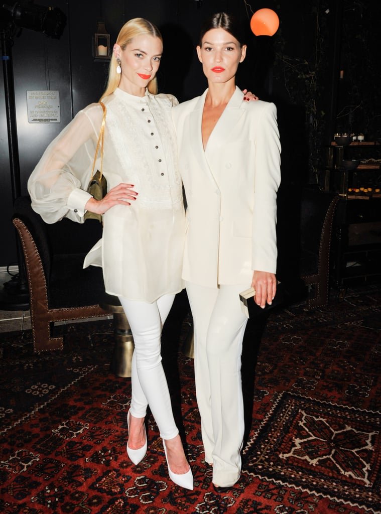 Jaime King and Hanneli Mustaparta