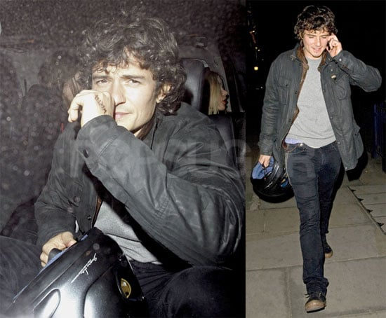 Photos of Orlando Bloom Leaving the Cuckoo Club in London