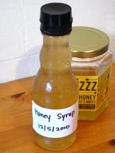 Basic Honey Syrup Recipe