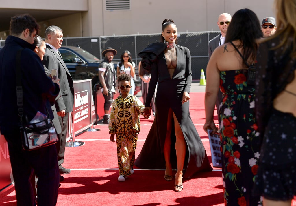 Make way for Ciara and her young prince, Future Zahir Wilburn! The 33-year-old singer brought her four-year-old son along to the 2019 Billboard Music Awards on Wednesday night, and wow, they looked freakin' adorable. As Ciara struck some fierce poses along the red carpet, Future shined all on his own. He even wore shades, likely to shield himself from the fans — he's basically royalty, after all.  Ciara is set to perform during the show, and knowing her tireless dance moves, we're all in for a treat. Ahead, check out more photos of the stunning musician and her little date on their night out.       Related:                                                                                                           25 of Ciara's Dance Moves That You Should Definitely Try at Home