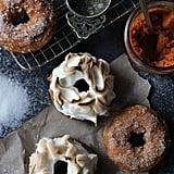 Pumpkin S'mores Baked Doughnuts