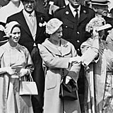 In 1958, the girls joined their mother at the derby.