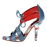 Print-lovers can flash some serious style in this red and blue Missoni zigzagged pair ($390, originally $650).