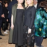 Haley Bennett Cozied Up With Brie Larson